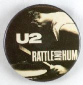 U2 - 'Rattle and Hum' 32mm Badge
